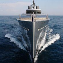 Exuma Yacht Bow