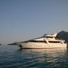 White Liberty Yacht
