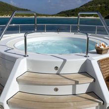 Harle Yacht Jacuzzi Stairs