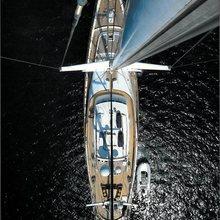 Blue Gold Yacht Overhead