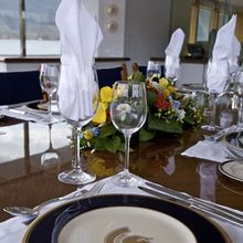 Achilles Yacht Dining Table - Detail