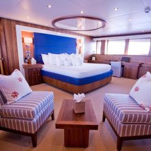 Regulus Yacht Master Stateroom - Seating