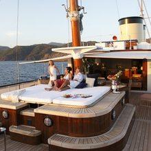 Talitha Yacht Deck Jacuzzi