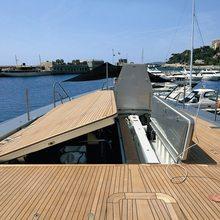 Exuma Yacht Tender Garage Opening