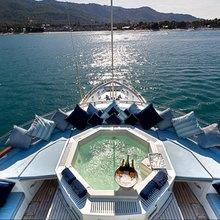 Ligaya Yacht Jacuzzi