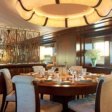 Blind Date Yacht Dining Salon
