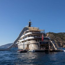 Here Comes The Sun Yacht Waterslide