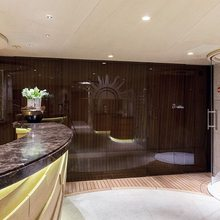 Here Comes The Sun Yacht Spa Area