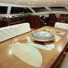 Valquest Yacht Dining Area