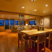 Exuma Yacht Dining Salon