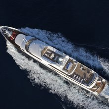 Achilles Yacht Aerial View