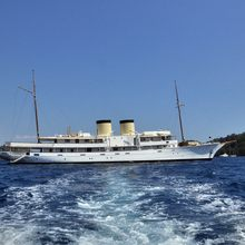 Talitha Yacht Profile - View from Tender