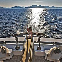 Lady A Yacht Swim Platform