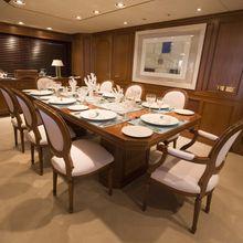 Constance Yacht Dining Salon