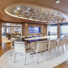 Suerte Yacht Formal Dining