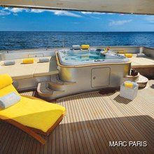 Exuma Yacht Upper Aft Deck