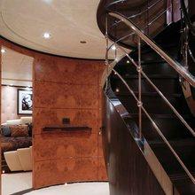 Caoz 14 Yacht Stairwell