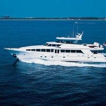 Risk & Reward Yacht Running Shot - Side View