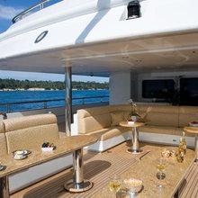 Horizons III Yacht Main Aft Deck