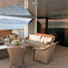 Fan Too Yacht Aft Deck - Day