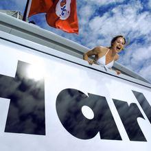 Harle Yacht Name Plate