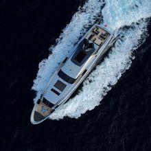 Bliss Easy Yacht Running Shot - Overhead