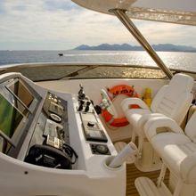 Regulus Yacht Flybridge Helm