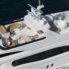 Dream Yacht Aerial View