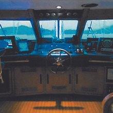 Blue Gold Yacht Pilothouse