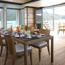 Harle Yacht Dining Salon