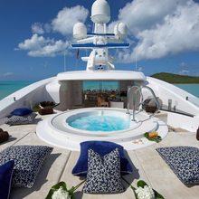 Ice Angel Yacht Sundeck Jacuzzi