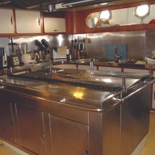 Blue Gold Yacht Galley