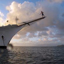 Talitha Yacht Bow
