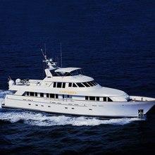 Chanson Yacht Running Shot
