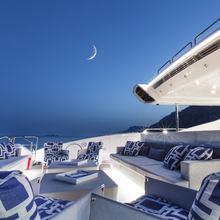 Apricity Yacht Sundeck night