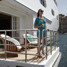 Pegasus VIII Yacht Balcony