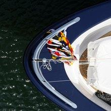 Ice Angel Yacht Bow