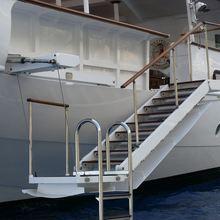Talitha Yacht Gangway