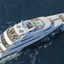 BB Yacht Aerial View