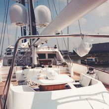 Blue Gold Yacht Deck