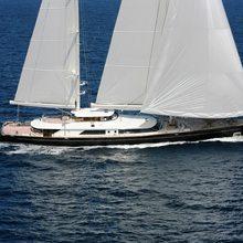 Caoz 14 Yacht Running Shot - Profile