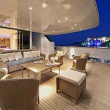 Fan Too Yacht Aft Deck