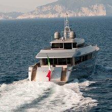 Exuma Yacht Rear View