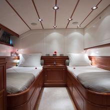 Corto Maltese Yacht Twin Stateroom