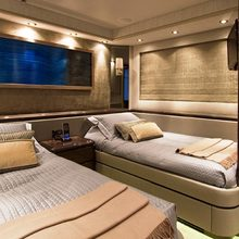 Strega Yacht Twin Stateroom