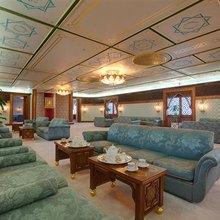Al Mabrukah Yacht Main Salon