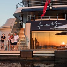 Here Comes The Sun Yacht Charter Guests
