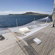 Ethereal Yacht Deck Hammocks