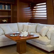 Ethereal Yacht Deckhouse Salon - Loungers