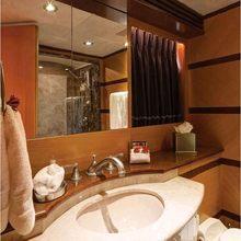 Chosen One Yacht Guest Bathroom - Detail